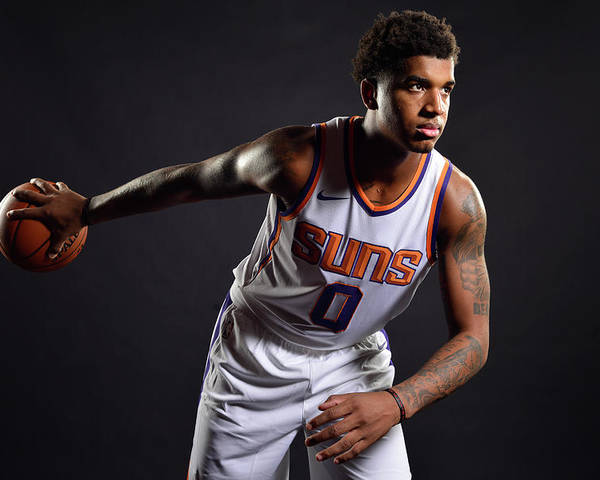 Nba Pro Basketball Poster featuring the photograph Marquese Chriss by Barry Gossage
