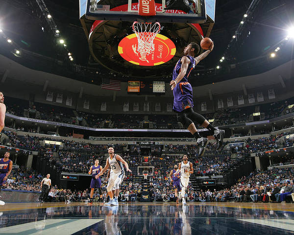 Nba Pro Basketball Poster featuring the photograph Marquese Chriss by Joe Murphy