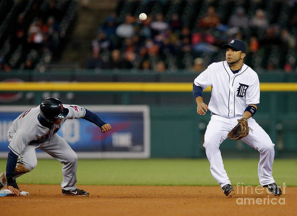 American League Baseball Poster featuring the photograph Michael Brantley by Duane Burleson