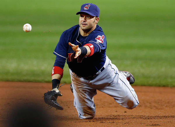 American League Baseball Poster featuring the photograph Nick Swisher by Jared Wickerham