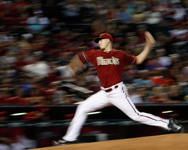 People Poster featuring the photograph Patrick Corbin by Christian Petersen