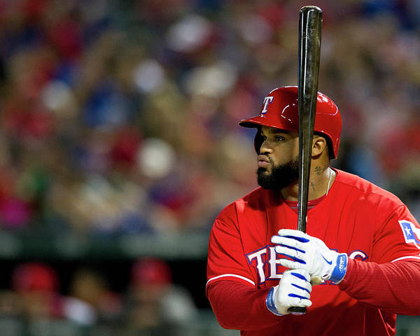 American League Baseball Poster featuring the photograph Prince Fielder by Cooper Neill
