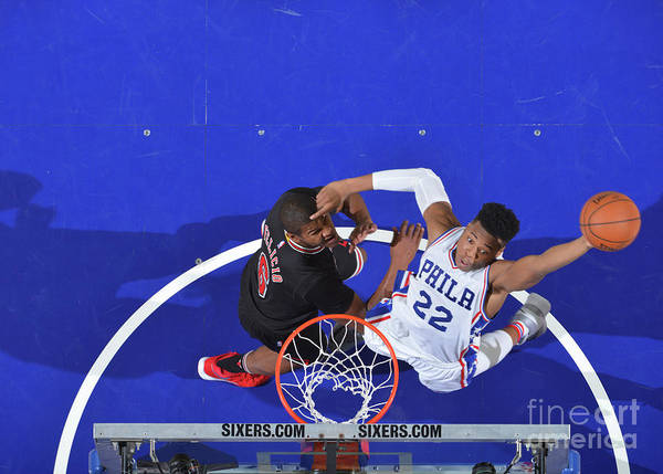 Nba Pro Basketball Poster featuring the photograph Richaun Holmes by Jesse D. Garrabrant