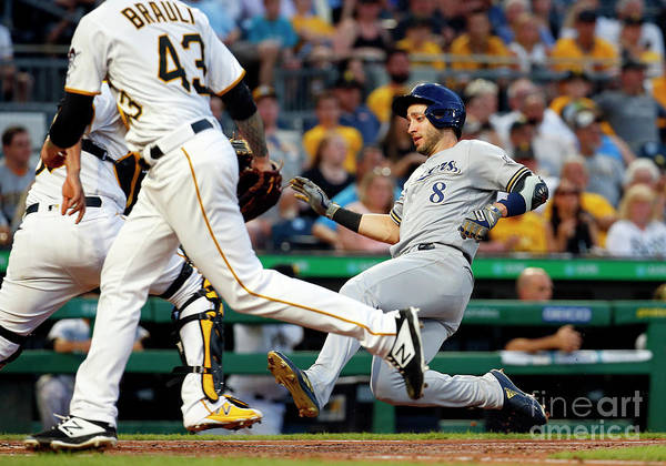 People Poster featuring the photograph Ryan Braun by Justin K. Aller