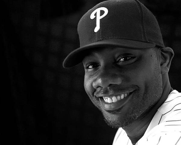 Media Day Poster featuring the photograph Ryan Howard by Mike Ehrmann
