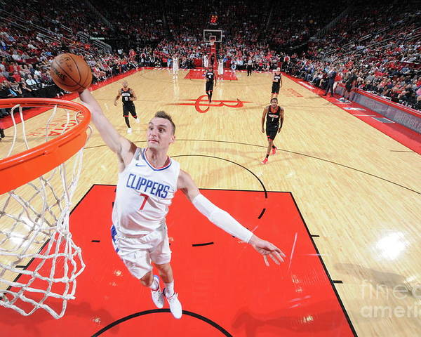 Nba Pro Basketball Poster featuring the photograph Sam Dekker by Bill Baptist