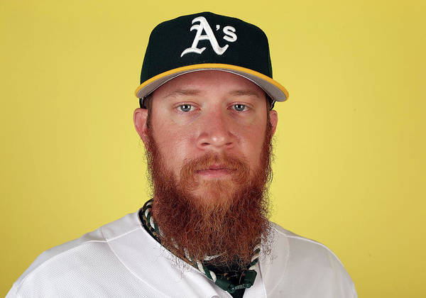 Media Day Poster featuring the photograph Sean Doolittle by Christian Petersen