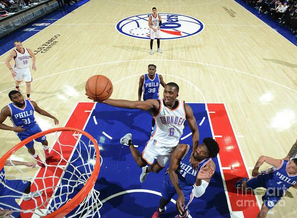 Nba Pro Basketball Poster featuring the photograph Semaj Christon by Jesse D. Garrabrant