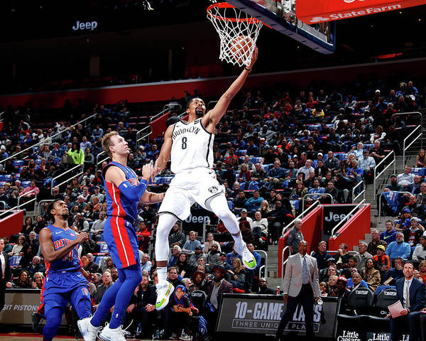 Nba Pro Basketball Poster featuring the photograph Spencer Dinwiddie by Brian Sevald