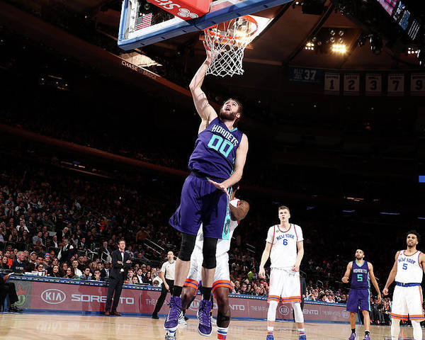 Nba Pro Basketball Poster featuring the photograph Spencer Hawes by Nathaniel S. Butler
