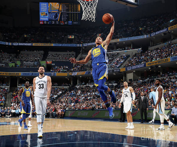Nba Pro Basketball Poster featuring the photograph Stephen Curry by Joe Murphy