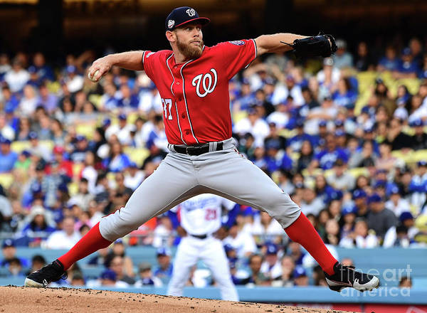 People Poster featuring the photograph Stephen Strasburg by Jayne Kamin-oncea