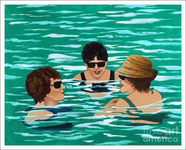 Summer Poster featuring the painting Summer Friends by Hugh Harris