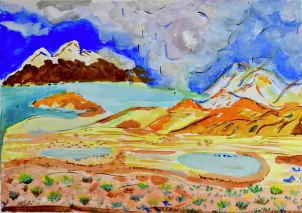 Surire Salt Flats - Chile by Ranganatha Sitaram