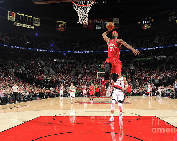 Nba Pro Basketball Poster featuring the photograph Terrence Ross by Cameron Browne
