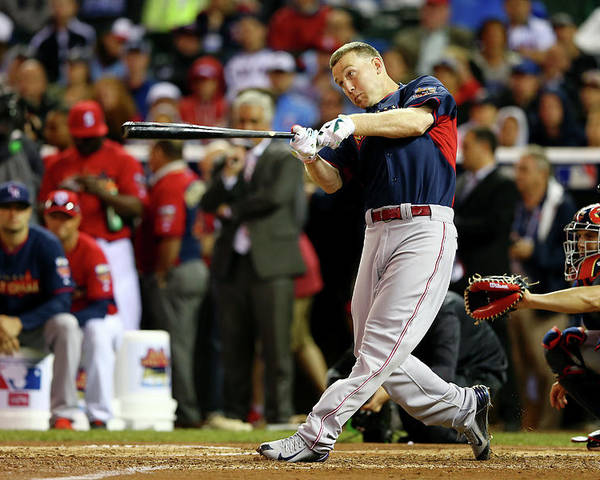 American League Baseball Poster featuring the photograph Todd Frazier by Elsa