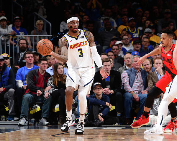 Playoffs Poster featuring the photograph Torrey Craig by Bart Young