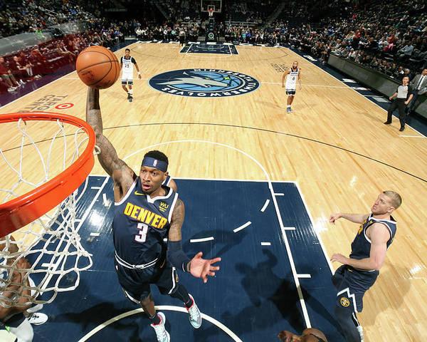 Nba Pro Basketball Poster featuring the photograph Torrey Craig by David Sherman