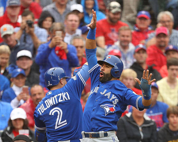 Game Two Poster featuring the photograph Troy Tulowitzki by Scott Halleran
