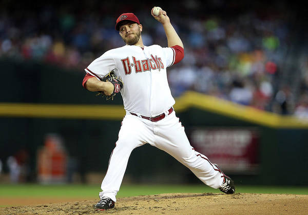 Baseball Pitcher Poster featuring the photograph Wade Miley by Christian Petersen