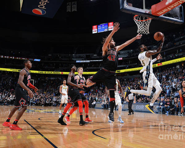 Nba Pro Basketball Poster featuring the photograph Will Barton by Bart Young