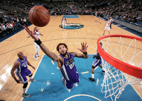 Nba Pro Basketball Poster featuring the photograph Willie Cauley-stein by Glenn James