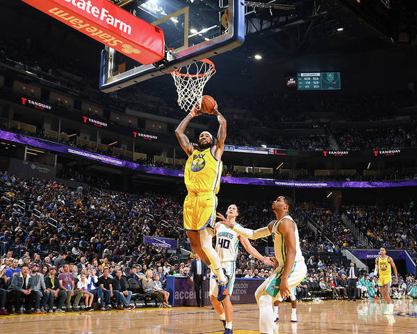 San Francisco Poster featuring the photograph Willie Cauley-stein by Noah Graham
