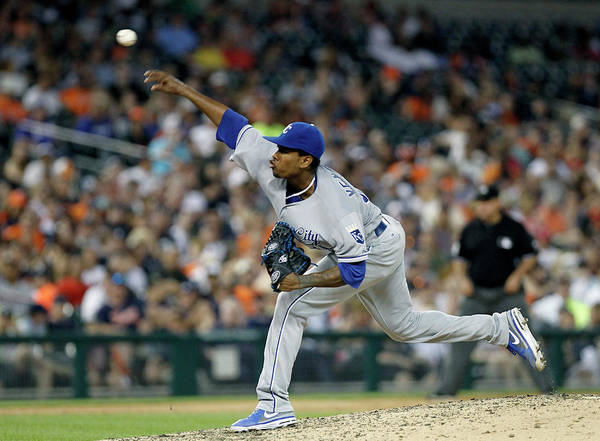 People Poster featuring the photograph Yordano Ventura by Duane Burleson