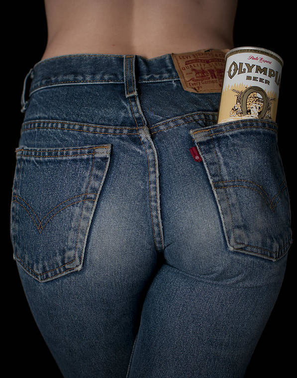 Olympia Beer Ad by Casey Grant