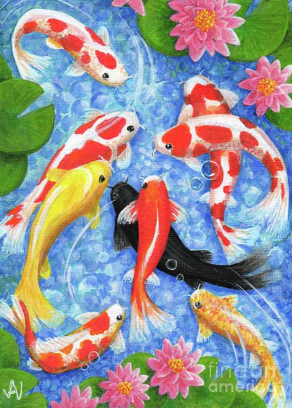 Koi Fish by Julia Underwood