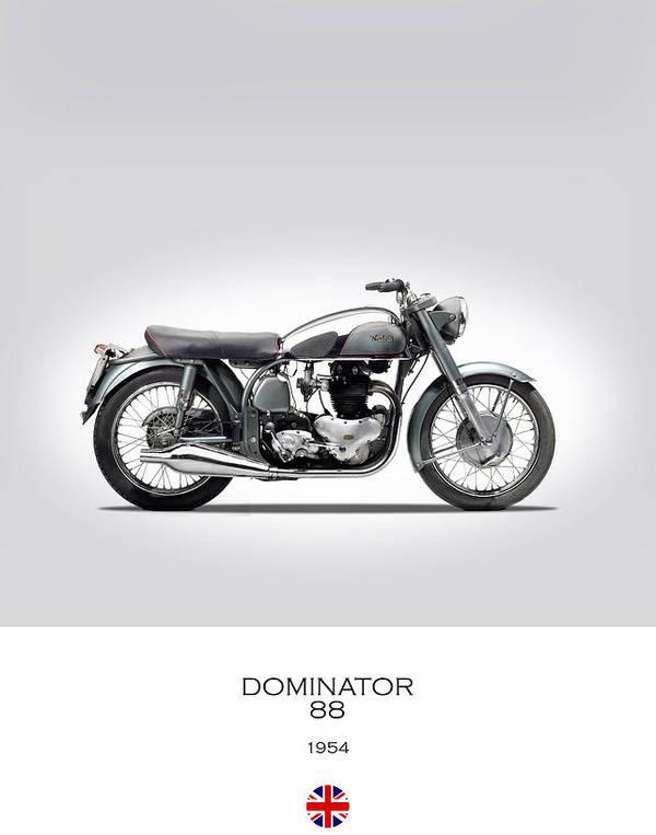 Norton Dominator 1954 by Mark Rogan