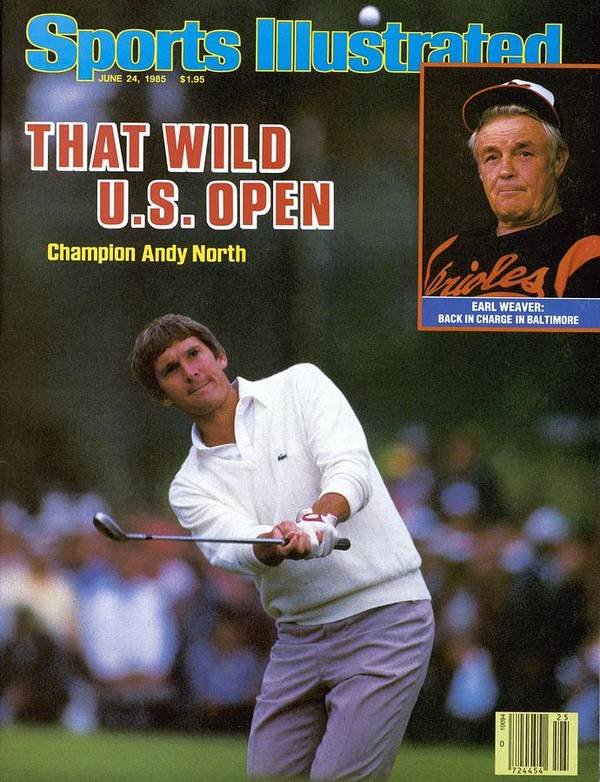 1980-1989 Poster featuring the photograph Andy North, 1985 Us Open Sports Illustrated Cover by Sports Illustrated