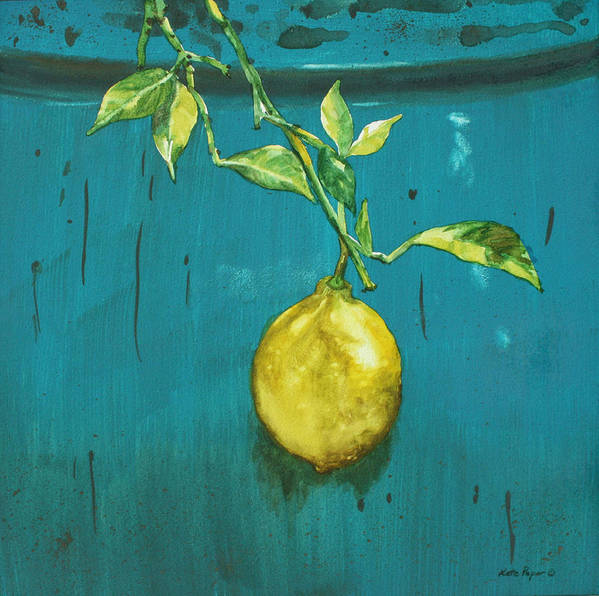 Still Life Poster featuring the painting Zest II by Kate Peper