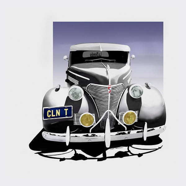 Chevrolet Poster featuring the painting La Bomba Lowrider by MOTORVATE STUDIO Colin Tresadern
