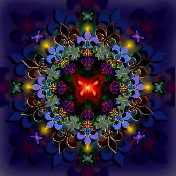 Spiritual Poster featuring the digital art Metamorphosis Dream II by Stephen Lucas