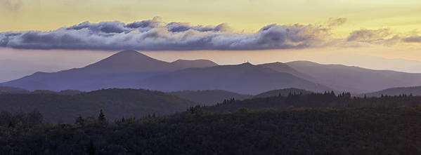 Pisgah Poster featuring the photograph Morning On The Blue Ridge Parkway by Rob Travis