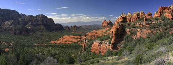 Sedona Photographs Poster featuring the photograph Sedona by Gary Lobdell