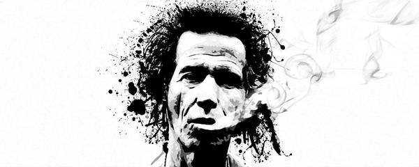 Keith Richards Poster featuring the digital art Gimme Shelter by Laurence Adamson