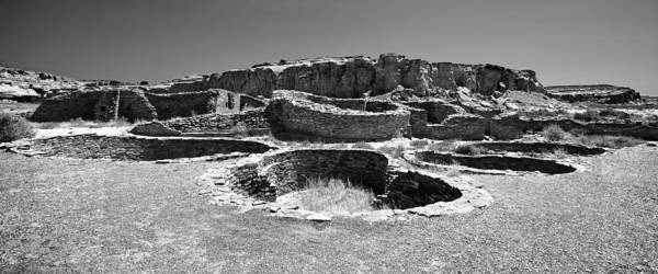 Chaco Canyon Poster featuring the photograph Chaco Four by Paul Basile