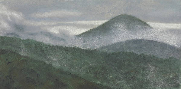 Mount Judea Poster featuring the painting Mount Judea by Garry McMichael