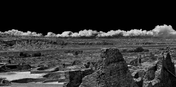 Chaco Canyon Poster featuring the photograph Chaco Six by Paul Basile