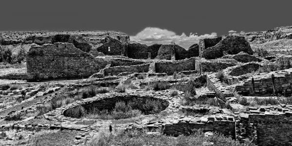 Chaco Canyon Poster featuring the photograph Chaco Fifteen by Paul Basile