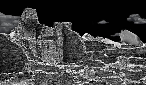 Chaco Canyon Poster featuring the photograph Chaco Eight by Paul Basile
