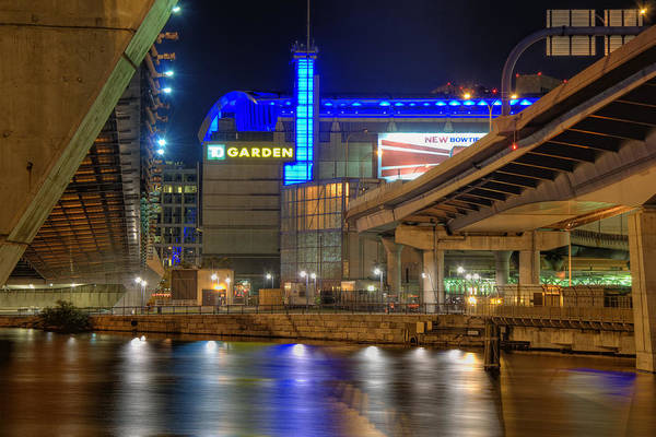 Park Poster featuring the photograph Td Garden - Boston by Joann Vitali