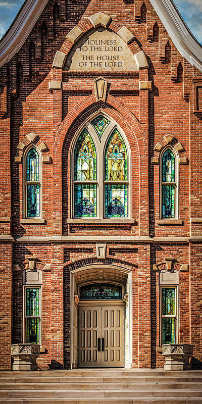 Provo Poster featuring the photograph Provo City Center Temple #2 by Brent Borup