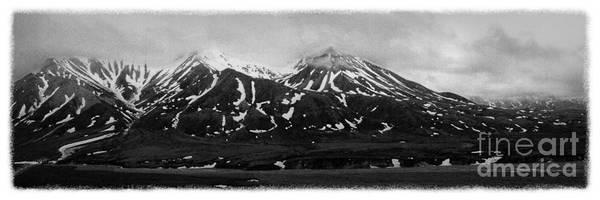 Alaska Poster featuring the photograph The Real Alaska - Denali Panorama by Pete Hellmann