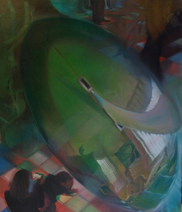 Surf Poster featuring the painting Culture by Gordon Daugherty