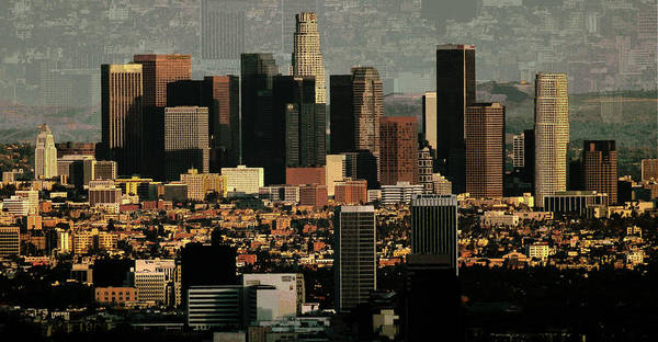 Los Angeles Poster featuring the photograph Los Angeles Classic by Rene Sheret