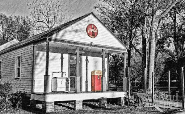 Coca Cola Poster featuring the photograph Coca Cola In The Country by Scott Pellegrin