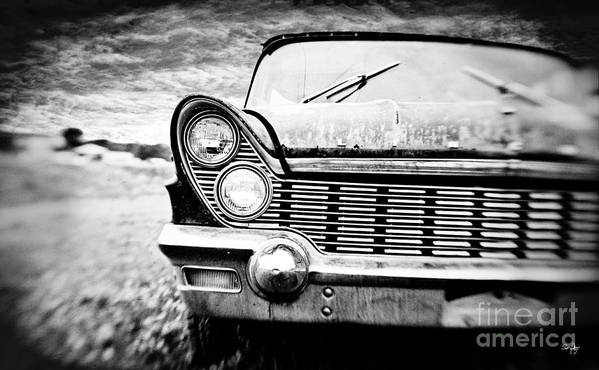 Car Poster featuring the photograph Midnight Ride by Scott Pellegrin